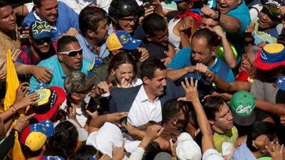 España, Francia, Reino Unido, Alemania... varios países europeos comienzan a reconocer a Guaidó como presidente interino