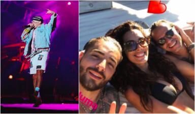 Maluma (¿y su novia?), protagonistas del Festival Presidente en Santo Domingo