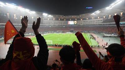 China planea construir seis ciudades de fútbol en los próximos años