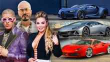 Exóticos y poderosos: los carros que conducen los artistas nominados a Premio Lo Nuestro 2021