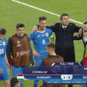 Resumen | Rumania da la vuelta y vence 1-2 a Hungría en la Euro Sub-21