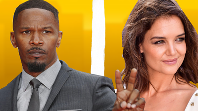 Jaime Foxx and Katie Holmes split up