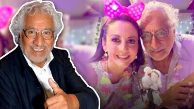 Nunca es tarde para el amor: Rafael Inclán se casa a los 78 años