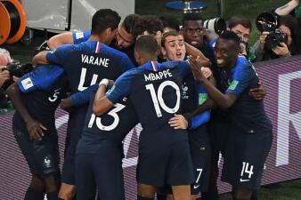 En fotos: Francia es finalista tras derrotar 1-0 a Bélgica en un duelo semifinal cerrado