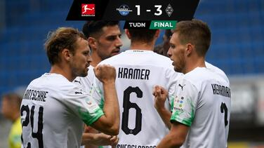 Borussia M'Gladbach ganó y tumbó de Champions League al Bayer Leverkusen