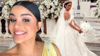 Se casó Aleyda Ortiz, y así vivió la boda Clarissa Molina que fue dama de honor