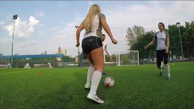 En Rusia también son aficionados al fútbol americano femenino
