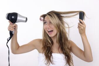 Sin plancha ni secadora: alisa tu cabello naturalmente