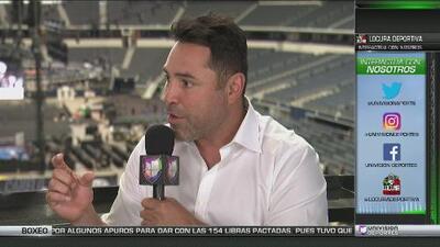 """De la Hoya, sobre 'Canelo' y Smith: """"Ninguno sabe cómo dar un paso hacia atrás"""""""