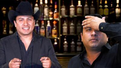 Julión Álvarez recayó con el alcohol y así fue como él mismo lo confesó