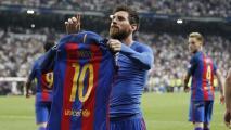 ¡Se calienta más! Barça recuerda al Madrid las 'joyas' de Messi