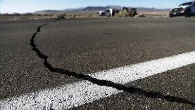 Una réplica de magnitud 5.4 se registra en California, tras el poderoso sismo que estremeció al estado
