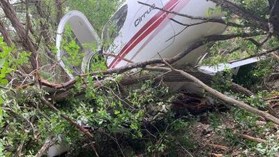Se reporta accidente aéreo en Bulverde