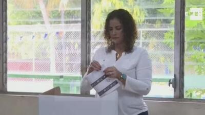"""""""Dije que tenían a una terrorista"""": estudiante nicaragüense impide que alcaldesa de Managua participe en un evento en Miami"""