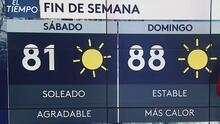 Se pronostica un fin de semana cálido para el Valle Central