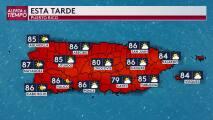 Viernes con mínima actividad de lluvia en Puerto Rico