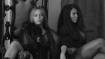 Serena Williams sorprende en video de Beyonce