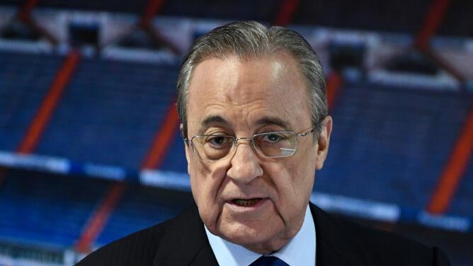Florentino Pérez ve la Superliga como un salvavidas