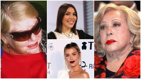 Paquita la del Barrio cree que las nietas de Silvia Pinal se pelean por su herencia