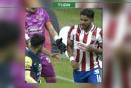 ¡Directo en el orgullo! Ponce le 'presumió' la rojiblanca a Sergio Díaz