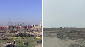 Irán limpió en cuestión de horas toda evidencia del sitio donde se estrelló el avión ucraniano