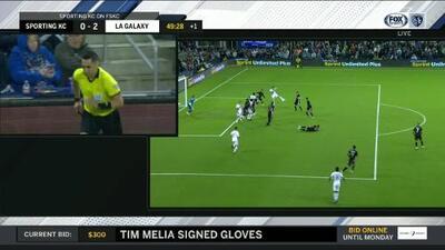 El VAR anula el segundo del LA Galaxy por posición adelantada