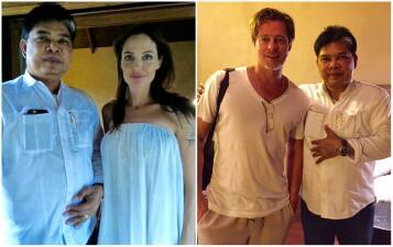 Fotos del último tatuaje de Angelina Jolie y Brad Pitt como pareja