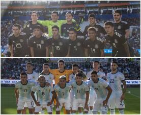 En fotos: México y Argentina empatan nuevamente en duelo amistoso