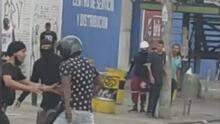 Colombia: un agente vestido de civil mata a tiros a manifestantes y termina muerto a manos de la multitud