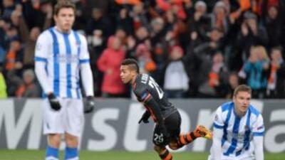 Shakhtar Donetsk 4-0 Real Sociedad: La Real cae goleada se despide de Europa
