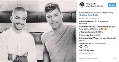 Maluma y Ricky Martin: el combo explosivo que tiene a todos hablando de ellos