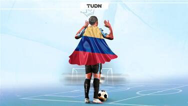 Un colombiano humilla a Cristiano y a Messi como mejor atacante