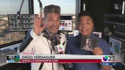 #EnElMix Danny hablo con Diego Verdaguer y nos dice que ganar en Latino Mix
