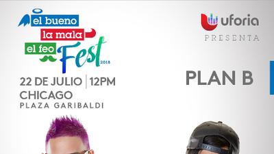 Plan B en Chicago en El Bueno, La Mala y El Feo Fest!