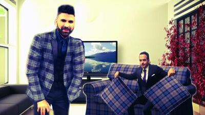 El Look de la Semana: ¿Jomari se vistió como el sillón de Carlos Calderón?
