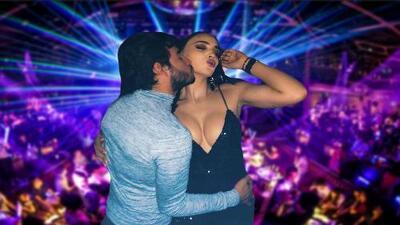 No es su novio: este es el hombre con quien Susana Renteria bailó pegadito en una discoteca