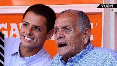 El conmovedor mensaje de Chicharito para Tomás Balcázar, su abuelo