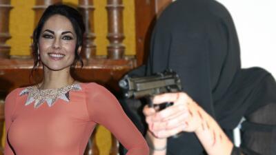 Bárbara Mori está aprendiendo a manejar armas de fuego por una razón importante en su vida