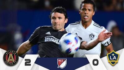 Con goles de Martínez y Almirón Atlanta venció a LA Galaxy (2-0) en regreso de Gio dos Santos