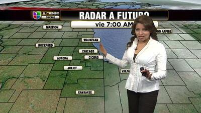 Clima para el viernes en chicago