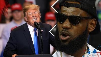 Donald Trump ataca fuertemente a LeBron James y a presentador de CNN