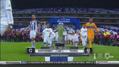 El resumen de la vuelta de la Final del Apertura 2017 entre Monterrey y Tigres