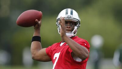 """Geno Smith: """"Yo no siento presión alguna"""" como quarterback de los N.Y.  Jets"""