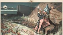 Estas ilustraciones antiinmigrantes tienen más de 100 años, pero podrían ser de hoy