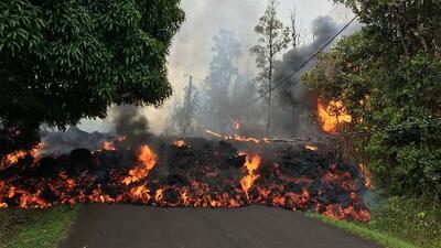 La erupción del volcán Kilauea deja sin hogar a una madre soltera y sus dos hijos en Hawaii