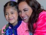 Consuelo Duval viajó a Guatemala para cumplir el sueño de Carolina, una niña que lucha contra el cáncer
