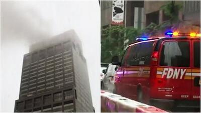 Choque de helicóptero en Nueva York genera pánico