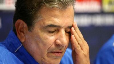 Jorge Luis Pinto ya no es el director técnico de Honduras