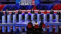 Economía, salud, control de armas e inmigración: los temas más importantes en el primer debate demócrata