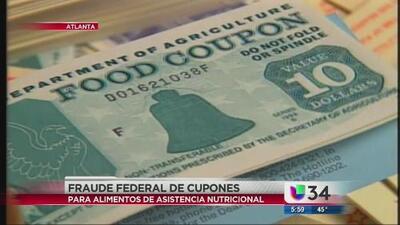 Fraude en cupones de alimentos